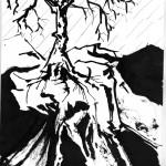 Soulèvement, 2007. Reproduction numérique 2/2, 19 x 26,5 cm.