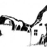 L'usine, 2003. Dessin stylo, 15 x 28,5 cm.